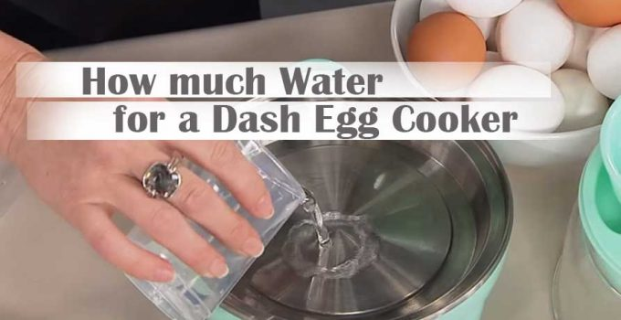 How much Water for a Dash Egg Cooker? – Proper Guidelines